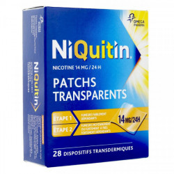 Niquitin 14mg/24h 28 patchs