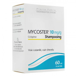 Mycoster 10mg/g shampoing 60 ml