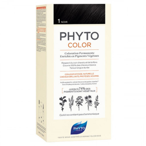 Phyto PhytoColor  Kit coloration permanente 1 Noir