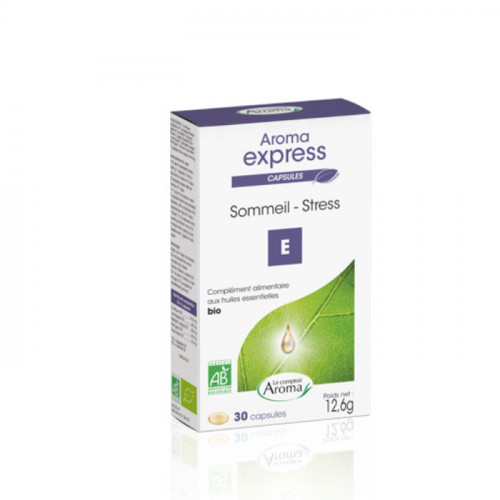 Le Comptoir Aroma Aroma Express Sommeil Stress 30 Capsules