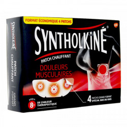 Syntholkiné patch chauffant grand format