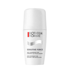 Biotherm Homme Sensitive Force Anti-Transpirant 48H** Roll-On 75 ml